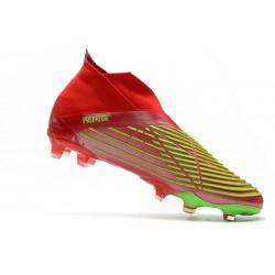 Crampons de Football Nouvelles Nike Magista Obra FG ACC Rouge Or Volt