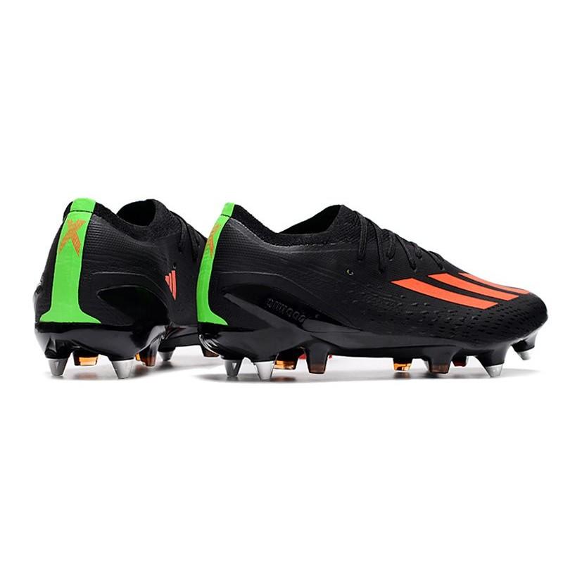 new concept d31e1 8c3f0 Crampons Football adidas Messi 15.1 FG AG Vert Noir Rouge Zoom. Précédent.  Suivant