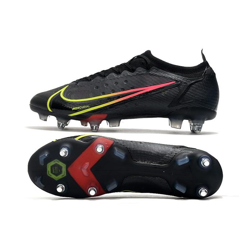 new concept 48e31 f1932 Nike Crampons Pas Cher HyperVenom Phantom FG Rose Jaune